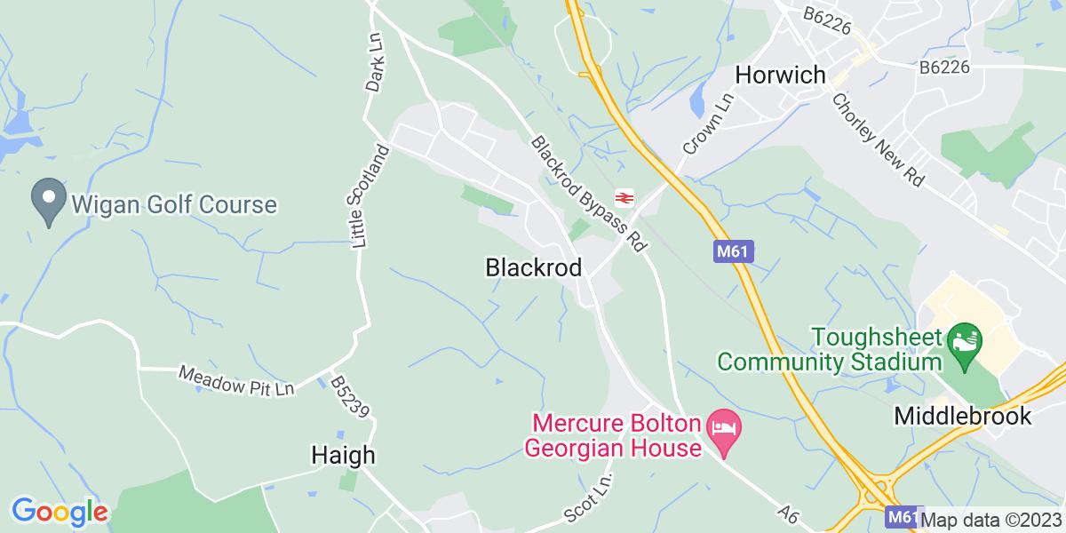 Map: 360 Grab Driver job role in Blackrod