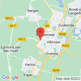 Google map of Kerkencluster Alkmaar - H. Pius X, Alkmaar