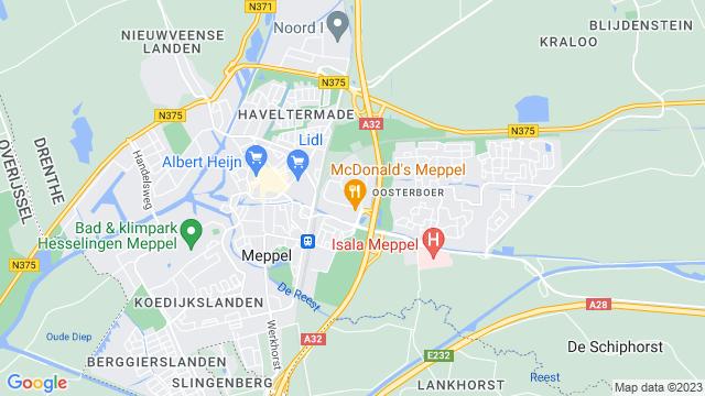 Matter+Meppel op Google Maps
