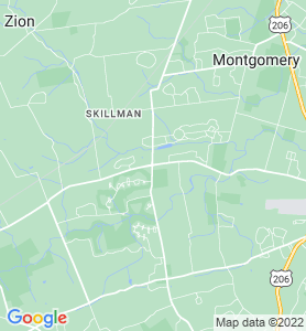 Blawenburg NJ Map