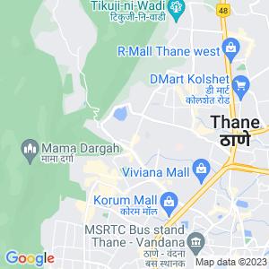Google Map of Bldg no. 9, Devdaya Nagar Phase 1 CHS, Opp. Ravi Estate, Pokhran Road No. 1 & 2, Link Road, Thane (W), Thane - 400 606.