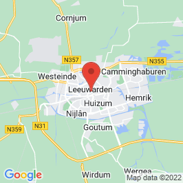 Google map of Blokhuispoort, Leeuwarden
