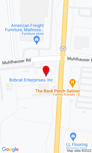 Google Map of Bobcat Enterprises, Inc. 9605 Princeton-Glendale Road, Hamilton, OH, 45011