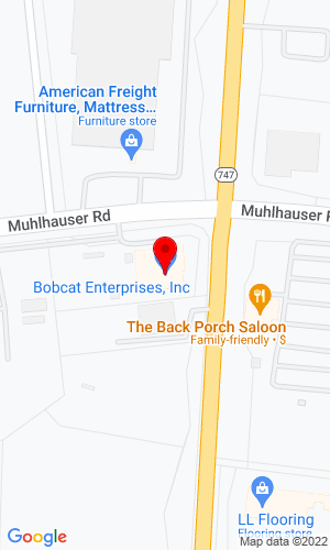Google Map of Bobcat Enterprises, Inc. 9605 Princeton-Glendale Road, Hamilton, OH, 45011,