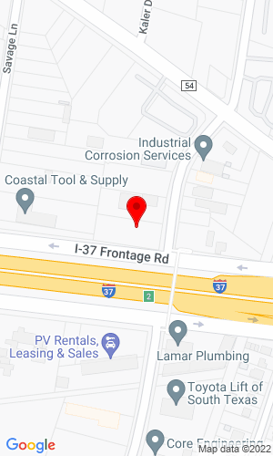 Google Map of Bobcat Valley Equipment Sales, Inc. 949 Cantwell Lane, Corpus Christi, TX, 78407-1701