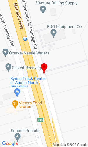 Google Map of Bobcat of Austin 16336 I-35 North, Austin, TX, 78728-2503