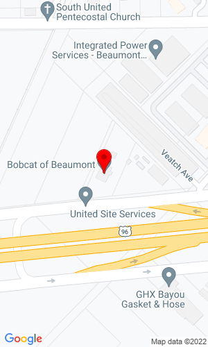 Google Map of Bobcat of Beaumont 1535 E. Cardinal Drive, Beaumont, TX, 77705