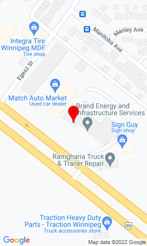 Google Map of Bobcat of Central Manitoba LTD 201 Oak Point Hwy, Winnipeg, MB, R2R 1T7