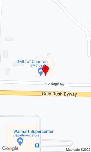 Google Map of Bobcat of Chadron 1520 W Hwy 20, Chadron, NE, 69337