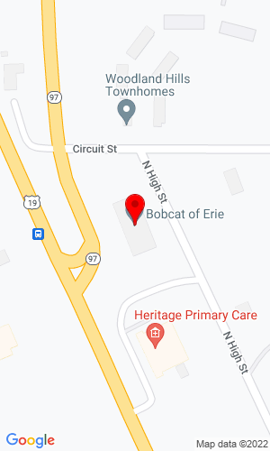 Google Map of Bobcat of Erie 9 Circuit Street, Waterford, PA, 16441