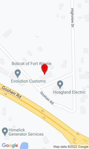 Google Map of Bobcat of Fort Wayne Inc 3630 Goshen Road, Fort Wayne, IN, 46818