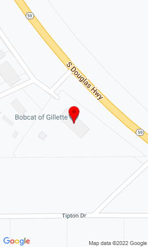 Google Map of Bobcat of Gillette 5221 Winland Drive, Gillette, WY, 82718