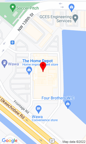 Google Map of Bobcat of Hialeah Gardens 11913 NW 99th Avenue, Hialeah Gardens, FL, 33018