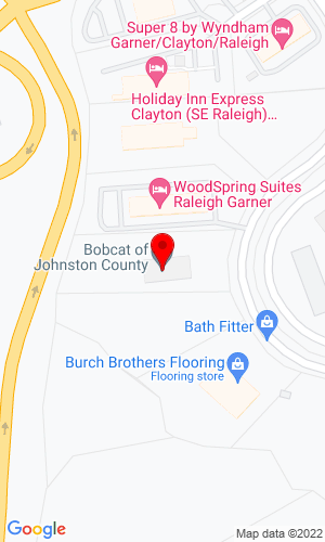 Google Map of Bobcat of Johnson County 154 Cleveland Crossing Road, Garner, NC, 27529