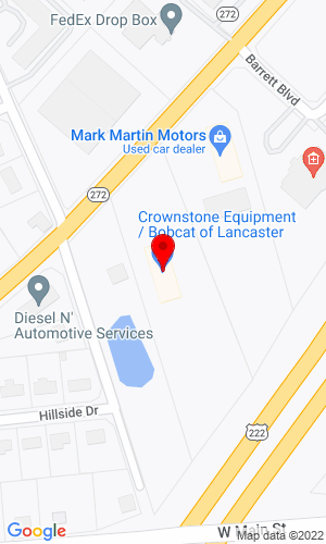 Google Map of Bobcat of Lancaster 4122 Oregon Pike, Ephrata, PA, 17522