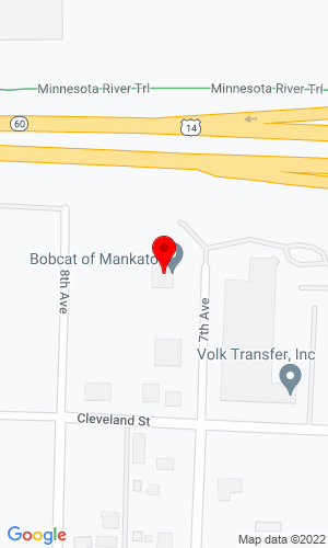 Google Map of Bobcat of Mankato 325 Lundin Blvd, Mankato, MN, 56001,