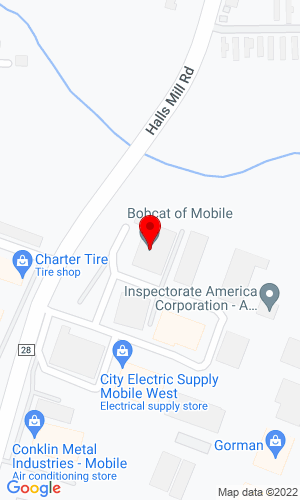 Google Map of Bobcat of Mobile 1951 W. I-65 Service Road North, Mobile, AL, 36618