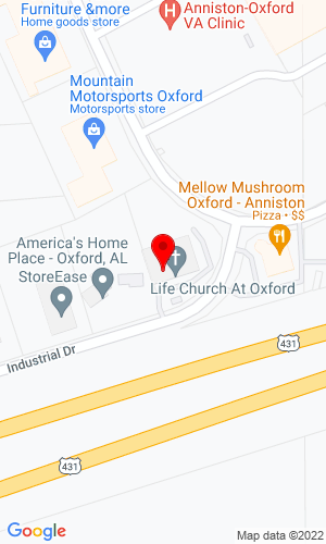 Google Map of Bobcat of Oxford 162 Industrial Drive Extension, Oxford, AL, 36203