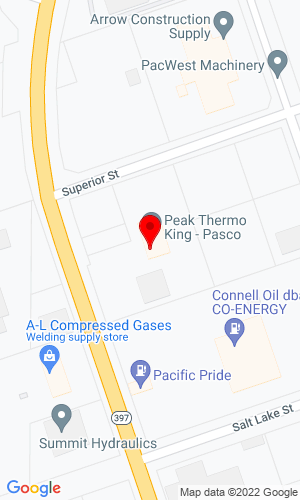Google Map of Bobcat of Pasco 1115 N Oregon Avenue, Pasco, WA, 99301