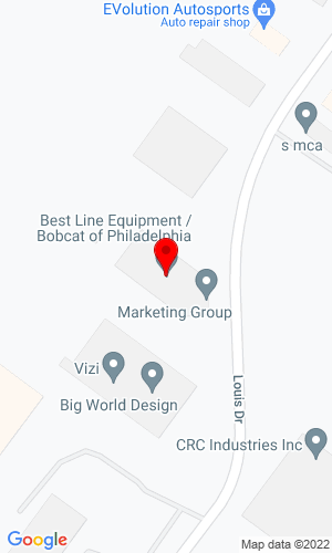 Google Map of Bobcat of Philadelphia 210 Jacksonville Road, Hatboro, PA, 19040