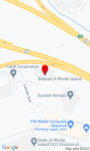 Google Map of Bobcat of Rhode Island 421 Lincoln Avenue, Warwick, RI, 02888