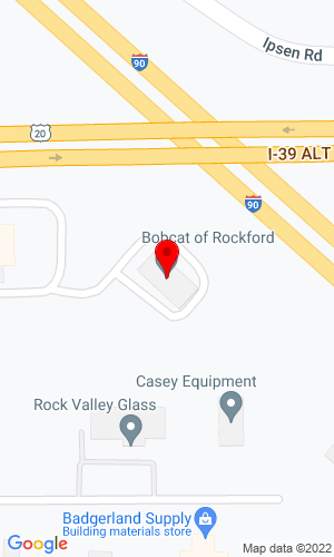 Google Map of Bobcat of Rockford 5925 Wheeler Road , Cherry Valley, IL, 61016