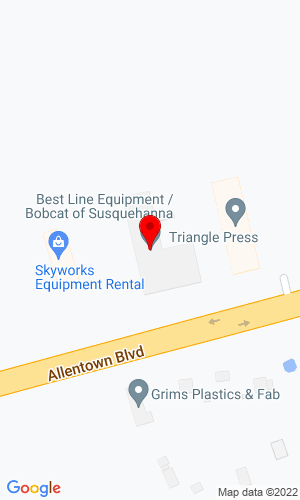 Google Map of Bobcat of Susquehanna 6700 Allentown Boulevard, Harrisburg, PA, 17112