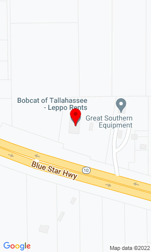 Google Map of Bobcat of Tallahassee 461 Commerce Blvd, , Thomasville (Midway), FL, 32343,