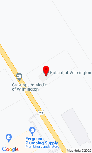 Google Map of Bobcat of Wilmington 6757 Market Street, Wilmington, NC, 28405