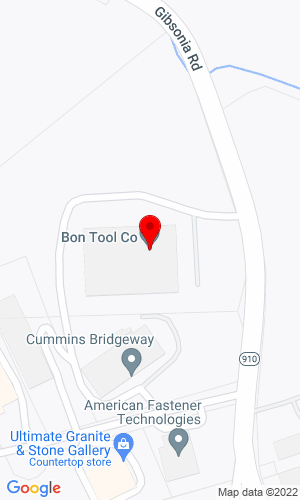 Google Map of Bon Tool Company 4430 Gibsonia Road , Gibsonia, PA, 15044