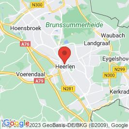 Google map of Schunck Glaspaleis, Heerlen
