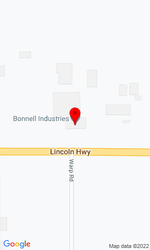 Google Map of Bonnell Industries, Inc. 1385 Franklin Grove Road, Dixon, IL, 61021,