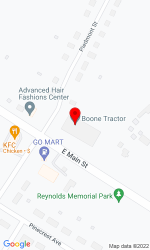 Google Map of Boone Tractor 1111 E. Main Street, Bedford, VA, 24523,