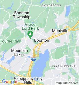 Boonton NJ Map