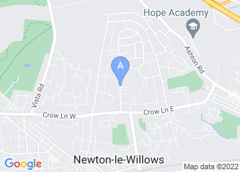 Map for Community Fire Station (Newton Le Willows)
