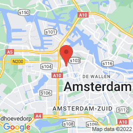 Google map of Pniëlkerk, Amsterdam