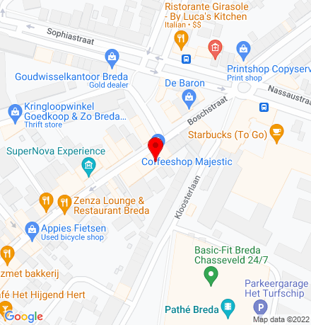 Google Map of Boschstraat 150 4811 GL Breda