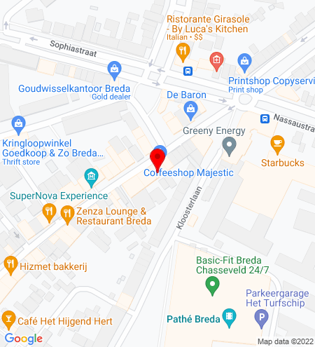 Google Map of Boschstraat 150 4811 GL Breda