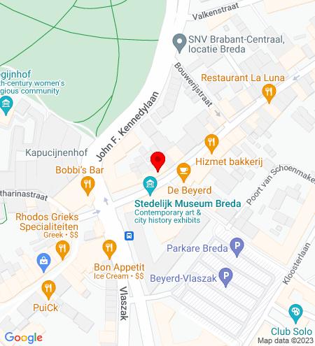Google Map of Boschstraat 21 4811 GA Breda