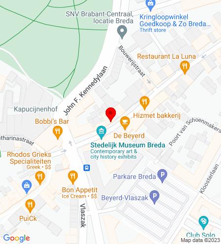 Google Map of Boschstraat 23 4811 GA Breda