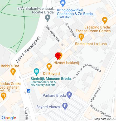 Google Map of Boschstraat 31 4811 GA Breda