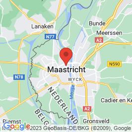 Google map of De Timmerfabriek, Maastricht