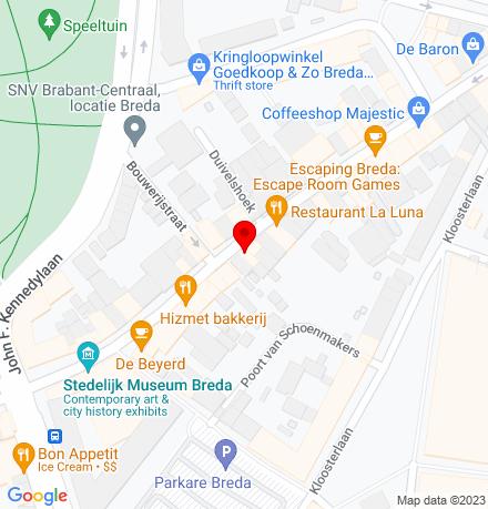 Google Map of Boschstraat 66 4811 GJ Breda