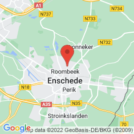 Google map of NJ Menko, Enschede