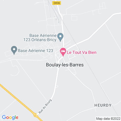 bed and breakfast Boulay-les-Barres