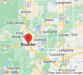 Job Map - Boulder, Colorado 80301 US