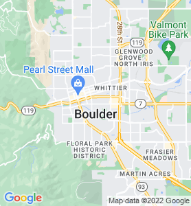Boulder CO Map