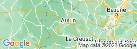 Autun map