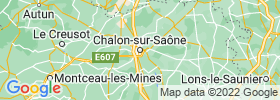Chalon Sur Saone map