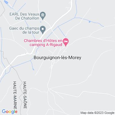 bed and breakfast Bourguignon-lès-Morey